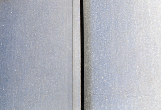 two metal plates