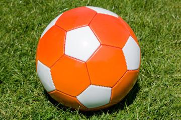 orange soccer ball