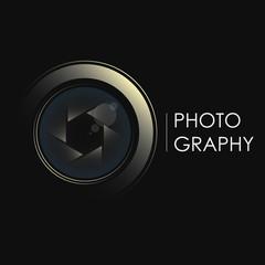 Camera lens concept for photographer