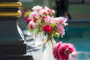 Blumensträuße Hochzeitsdekoration