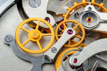 Stopwatch mechanism.