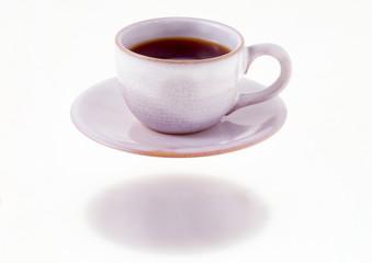 浮かぶコーヒーカップ