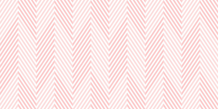Background pattern seamless chevron pink and white geometric abstract vector design.