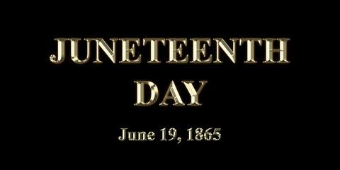 Juneteenth Day June 19, 1865