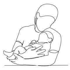mother with newborn in her arms04