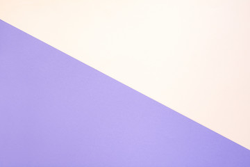 Pastel pink purple multi-colored paper background. Copy space. Top view.  Flat lay.