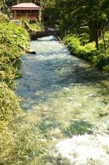 Source de l'Œil bleu (région de Delvinë- Albanie)