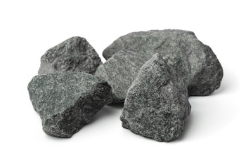 Crushed granite stones