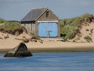 Wrack am Strand von Newburgh