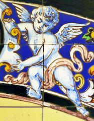 Angelote, azulejo de Triana, España
