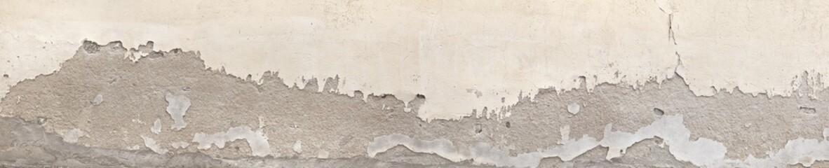 Abbröckelnde Hausmauer