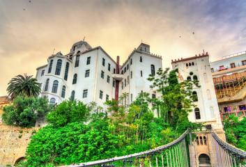 View of the Madrasa from the Melha Slimane Footbridge in Constantine, Algeria