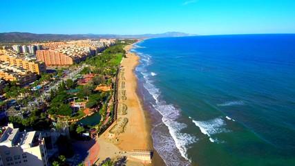 Drone en Marina d´Or Ciudad de Vacaciones en Castellon, España