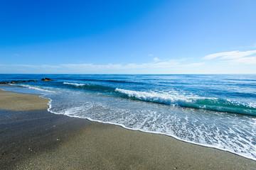 Playa de Venus, Marbella, Andalusia, Spain