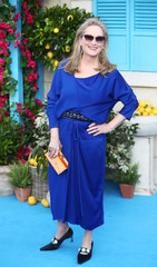 Meryll Streep attends the world premiere of Mamma Mia! Here We Go Again at the Apollo in Hammersmith, London