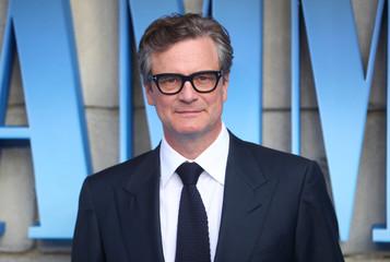 Colin Firth attends the world premiere of Mamma Mia! Here We Go Again at the Apollo in Hammersmith, London