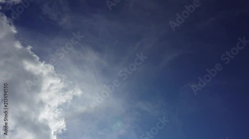 Background or backdrop for video editing  Rotating Clouds against
