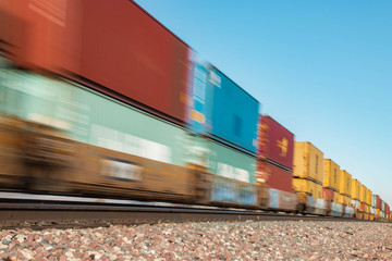 Moving Freight Train 2