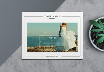 Wedding Photography Catalog Layout