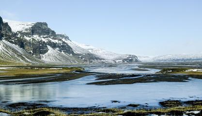 Poster Arctic Islande du Sud