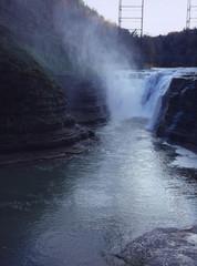 Genesee River waterfall