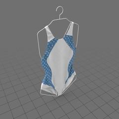 Swimsuit on hanger