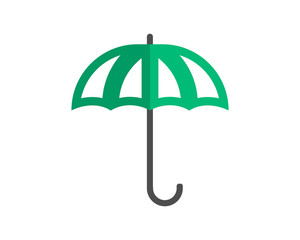 umbrella image vector icon logo symbol
