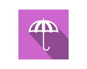 purple umbrella image vector icon logo symbol