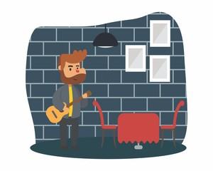 guitarist music musician musical artist concert performance cartoon character