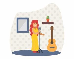 diva singer music musician musical artist concert performance cartoon character