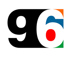 gestalt typography typeset logotype numeral numeric nominal image vector icon
