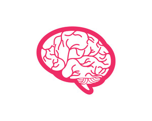 Health Brain vector illustration icon