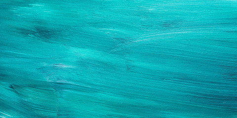 Dark green acrylic painted wooden background. Sea water effect or snow in the forest