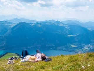 Entspannung in den Bergen des Salzkammergut