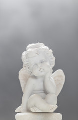 Baby Angel On Smoky Background 1