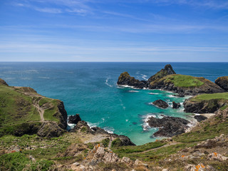 England, Cornwall, Kynance Cove