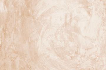 Fotobehang - Blank brown grunge cement wall texture background, banner, interior design background