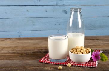 a bottle of milk