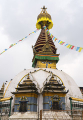 Buddhist stupa in Thamel district of Kathmandu