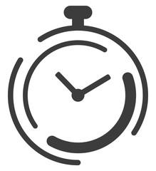 Clock Icon - grey