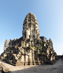 Angkor Wat's central shrine, in Cambodia.