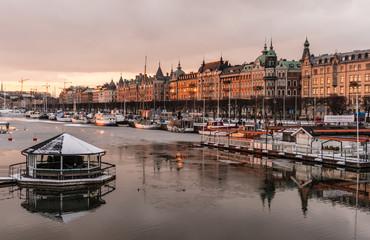 Sunsets in Sweden