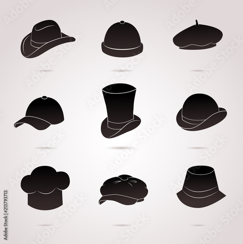 325246e368a9c Collection of different hats (cap