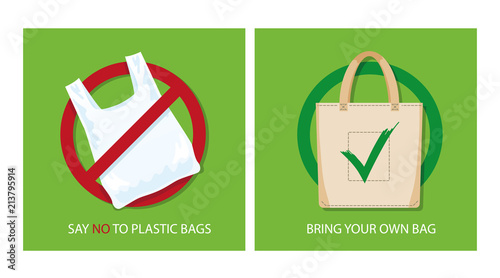 urging students to say no to plastics Plastics as packing material: plastic has replaced the traditional material ( paper/cloth etc) as packing and carry bags because of cost and convenience which is possibly a wrong choice of material for such use.