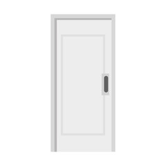 door wooden isolated icon