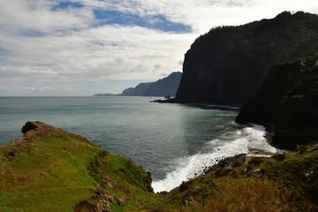 Faial, Madeira, Portugal - february 23 2018 : landscape