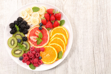 fruit salad, healthy eating