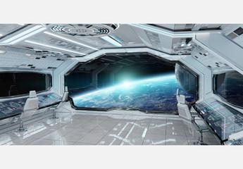 Spaceship Interior Mockup