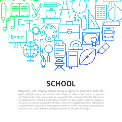 School Line Concept