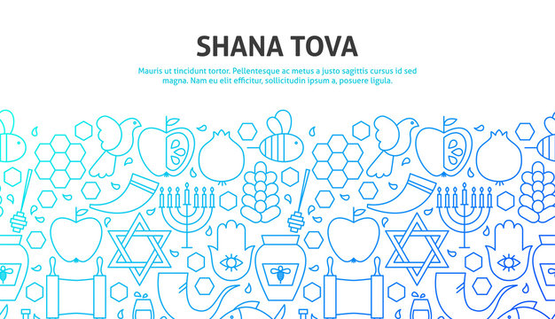 Shana Tova Concept